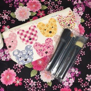 MAC Makeup Brushes and Teddy Bear Bag